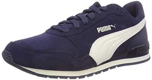 Puma St Runner V2 SD Jr, Scarpe da Ginnastica Basse Unisex – Bambini, Blu (Peacoat-Whisper White 01), 39 EU