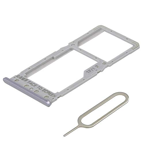 MMOBIEL Bandeja de Tarjeta SIM/SD Compatible con Xiaomi Redmi 6-5.45 Pulg. Incl. sim Pin (Negro/Gris)