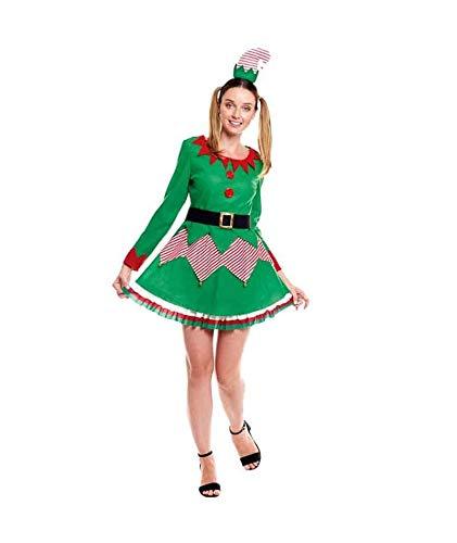 H HANSEL HOME Disfraz Elfa Adulto - Mujer Vestido para Cosplay/Navidad Size...