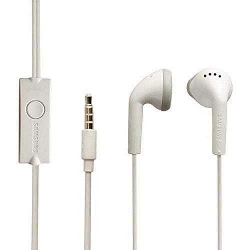 Original Samsung Headset EHS61 für S7562 Galaxy S DUOS in Weiss geformt Ohrhörer Kopfhörer Stereo 3,5mm Stecker