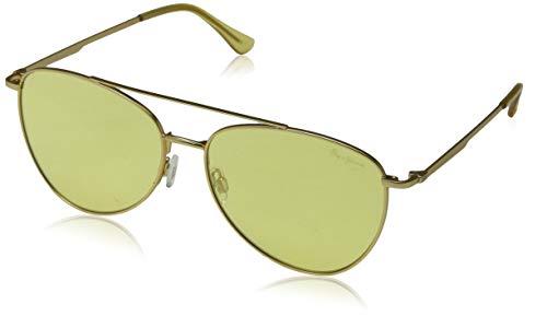 Pepe Jeans Unisex-Erwachsene Neo Sonnenbrille, Gold (Yellow Gold/Yellow), 59.0