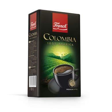 Franck Kaffee Premium COLOMBIA 100% Arabica 250g mljeveni - gemahlen - Gourmet Premium Coffee