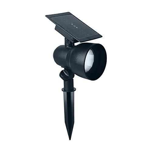 Duracell Solar LED Lampe Beleuchte, Plastik, schwarz, 14,4 x 9 x 31 cm