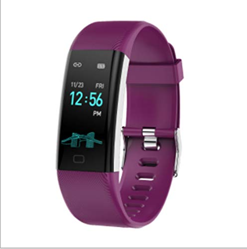Twnhmj Fitness Tracker Hartslag bloeddruk Rate Monitor Bluetooth Activiteit Tracker Horloge met Slaapmonitor Stap Counter Calorie Counter Waterdichte Stappenteller Horloge voor Kinderen Vrouwen en Mannen