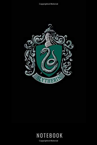 Harry Potter: Slytherin   Notebook , Journal   Perfect for Birthday gifts and Fan club members: Perfectly Lined journal ,220 pages , 6x9 inches