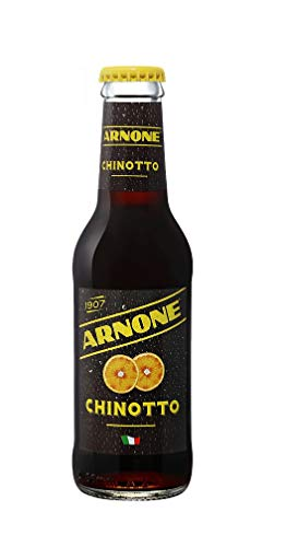 48x Arnone Chinotto italienisches Erfrischungsgetränk Glasflasche 20cl 100% Italienisch softdrink