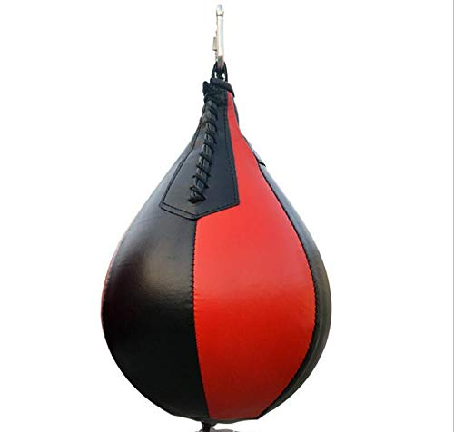 unknow Leather Boxing Speed Ball with Hanging Swivel Kicking Punching Bag Workout Fitness Fighting MMA Muay Thai or Sport Training