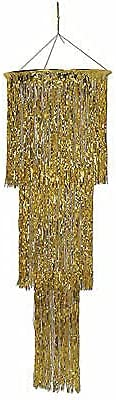 for Gold 3-Tier Shimmering Chandelier Supplier Décor Max 87% OFF Home Cheap mail order shopping