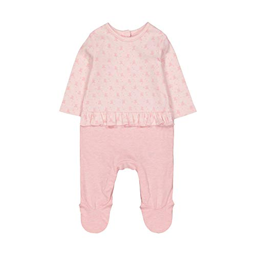 Mothercare Unisex Baby Nb Mock Teddy Aio Body, Schwarz (Pink 130), 12-18 Months (Size:86)