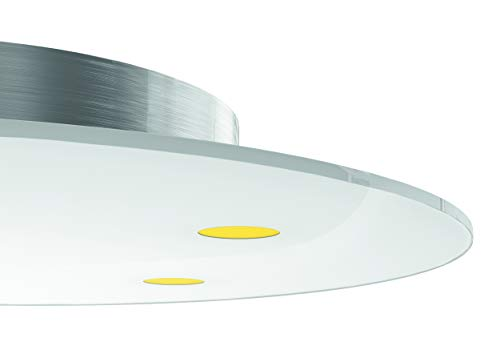 Evotec SUN LED Deckenleuchte, rund / 2700K / 5x6,4W / 3000 Lumen, Aluminium/Glas, 32 W, Transparent, Small