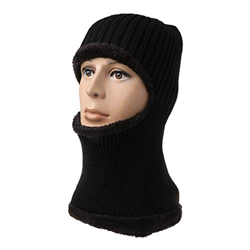 siwetg gebreide wintermuts beanie mannen sjaal voor vrouwen mannen bonnet masker merk hoeden