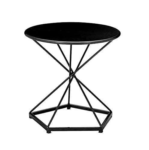 Mesa de centro Nordic Small Table de café Minimalista Moderno Minimalista Sofá Mini Mesa redonda Esquina de la mesa de café Unas cuantas pequeñas mesa de café Mesa de noche Pequeñas mesas de café