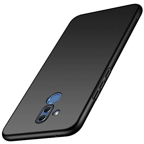 ORNARTO Funda Huawei Mate 20 Lite,Mate 20 Lite Carcasa [Ultra-Delgado] [Ligera] Mate Anti-arañazos y Antideslizante Protectora Sedoso Caso para Huawei Mate 20 Lite(2018) 6.3' Negro
