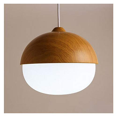 Lámpara colgante de nueces nórdicas de alta calidad Lámpara colgante de la lámpara de la lámpara de la lámpara de la lámpara del dormitorio del dormitorio del comedor de la cafetería del café