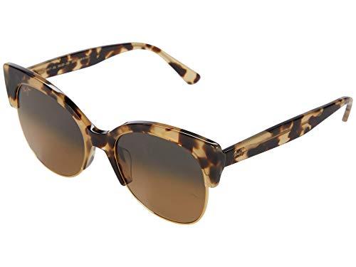 Maui Jim Women's Mariposa w/ Patented PolarizedPlus2 Lenses Polarized Fashion Sunglasses, Tortoise W/Gold/Hcl Bronze Polarized, Large