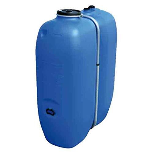 DEPOSITO rectangular polietileno agua potable. Capacidad 1000 litros. Medidas Largo 135 cm, Ancho 62 cm, Alto 171 cm.