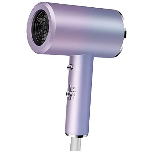 Secador de pelo, estilizador de iones negativos de secado rápido de alta potencia, protección contra sobrecalentamiento no le hará daño al cabello