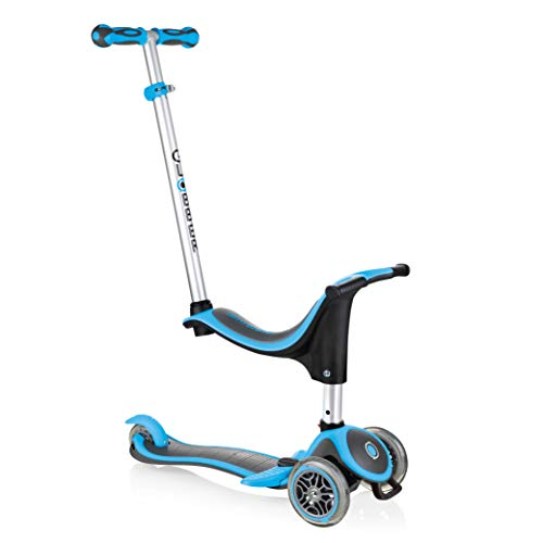 Globber Kids 'Evo in Scooter, Sky Blau
