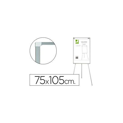 Tafel Stativ weiß Melamin für Konferenzen Q-75x 105cm