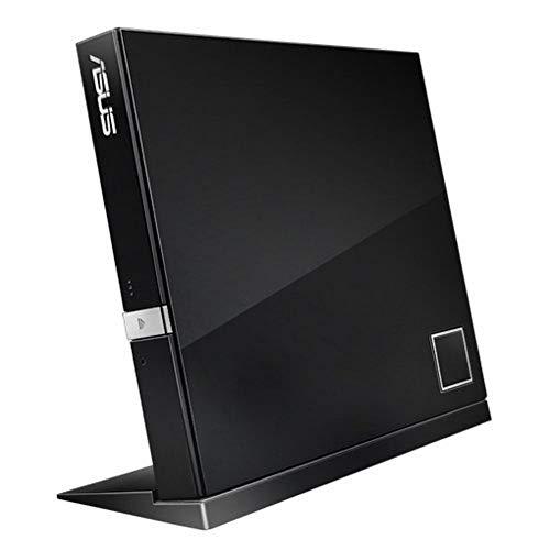 Gravador Externo Slim - USB - Blu-ray/DVD/CD - Asus - Preto - SBW-06D2X-U/BLK/G/AS