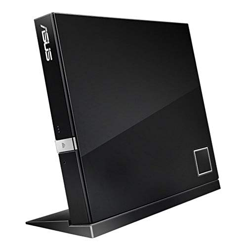 Asus Blu-ray RW EXT USB SBW-06D2X-U BDXL Slim Black Extern Retail, 90-DT20305-UA199KZ (BDXL Slim Black Extern Retail)
