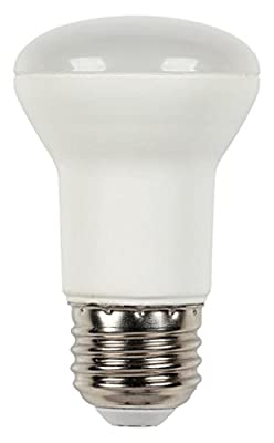 Westinghouse 45W Equivalent R16 Flood Dimmable Soft White Led Energy Star Light Bulb with Medium Base