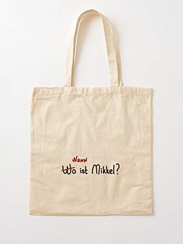 Dark Wann Ist Jonas Mikkel Whereismikkel Wo 2020 Ulrich Whenismikkel   Einkaufstaschen aus Segeltuch mit Griffen, Einkaufstaschen aus nachhaltiger Baumwolle