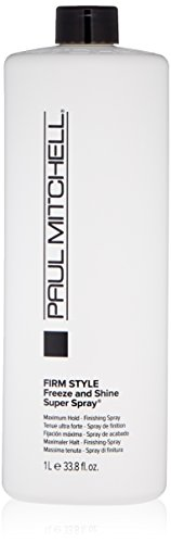 Paul Mitchell Freeze and Shine Super Finishing Spray Refill for Unisex