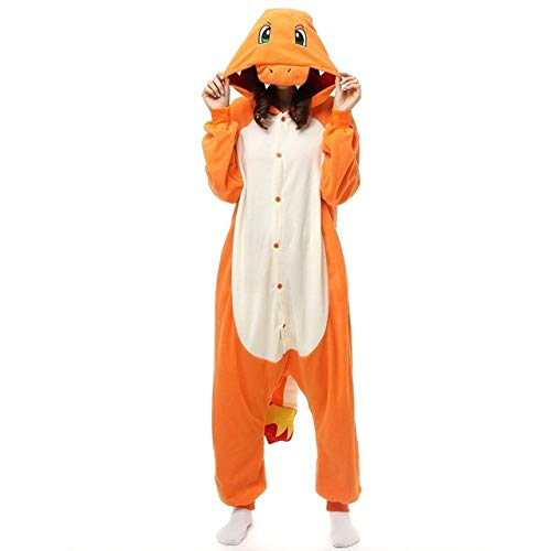 YUHUALI Warme Pyjamas des Erwachsenen Unisexpyjamas-Tierkleidungswinters
