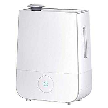 InnoGear Humidifier 4L Touch Control Ultrasonic Cool Mist Humidifiers 360° Rotatable Nozzle and 3 Mist Level Low/ Medium/ High 13-40 Hrs Waterless Auto Shut-off Whisper Quiet for Home Baby Nursery