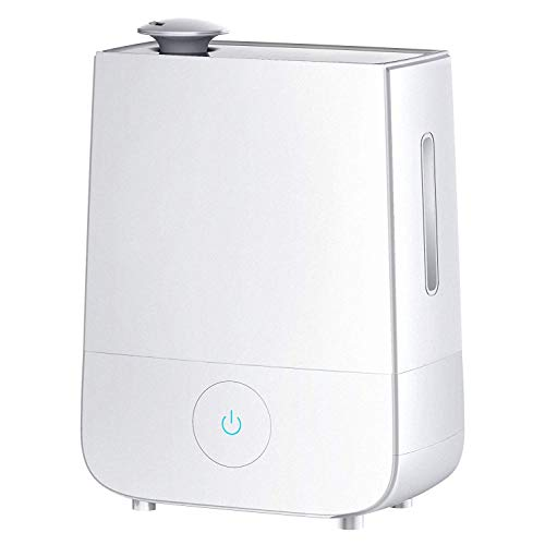 InnoGear Humidifier, 4L Touch Control Ultrasonic Cool Mist Humidifiers 360° Rotatable Nozzle and 3 Mist Level Low/ Medium/ High 13-40 Hrs Waterless Auto Shut-off Whisper Quiet for Home Baby Nursery