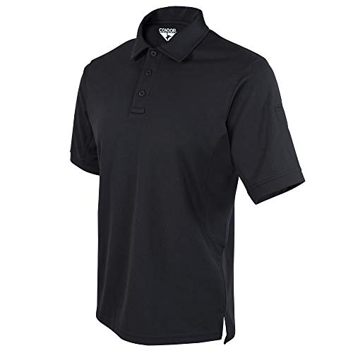 Condor Performance Tactical Polo (negro, XL)