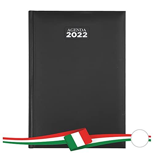 Agenda giornaliera 2022 mis 15x21 (NERO)