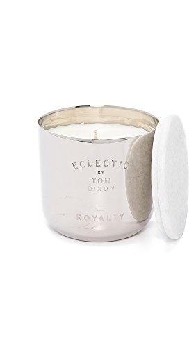 Tom Dixon - Duftkerze - Royalty - Duftrichtung: Marmelade, Scones, Tee - Nickel/Marmor - 8 x 8,5 cm - 260 Gramm