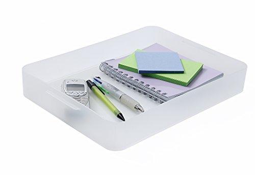 Sundis Pure Box A5, Kunststoff (PP), transparent, A4 (32,2 x 23 x 4,6 cm)