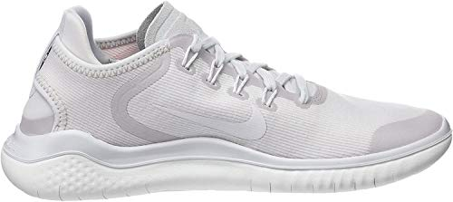 Nike Free Rn 2018 Sun Sz 10 Womens Running Vast Grey/Summit White Shoes