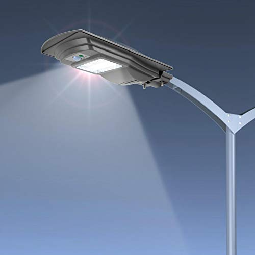 Omabeta Control de luz de Calle Duradero y Respetuoso con el Medio Ambiente Impermeable Ahorro de energía para jardín 20W