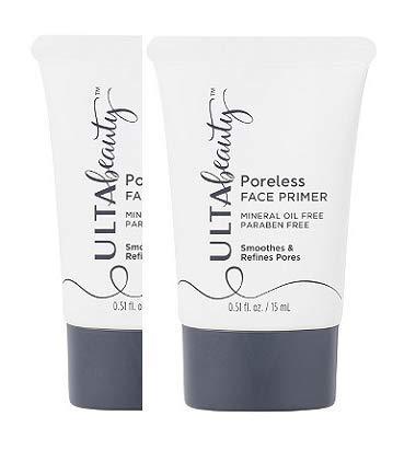 Ulta Beauty Travel Size Poreless Face Primer Size 0.5 oz. (2 Pack)
