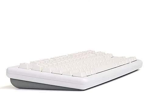 HANSUNG TFG Art Full-Rubber pad RGB Custom Mechanical Keyboard, English/Korean Layout, Art Box Switch, Quick Swap, RGB LED Backlight, Customizing (Grey_Red Switch)