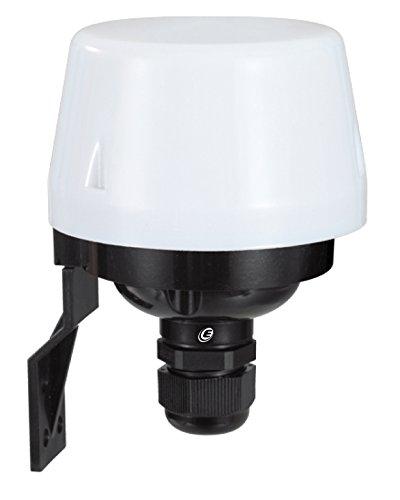 Electraline 58062 Interruttore Crepuscolare per Uso Esterno Ip44