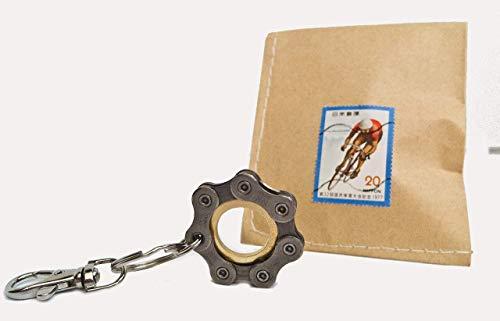 Fahrrad Schlüsselanhänger Vélo Bike Upcycling Design Anhänger Rennrad fixie Mountainbike BMX