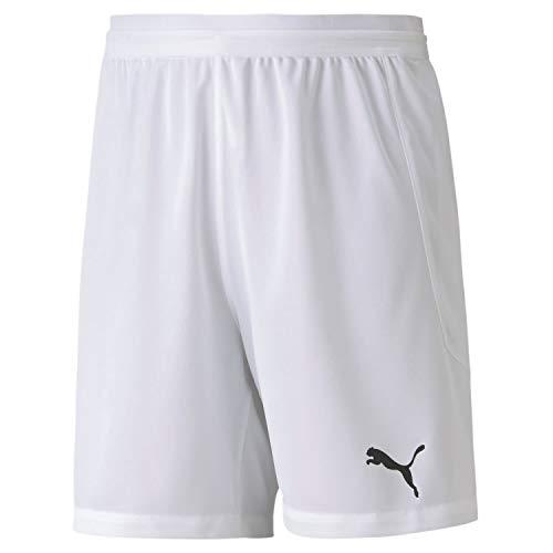 Puma Kinder teamFINAL 21 Knit Shorts Jr White, 164