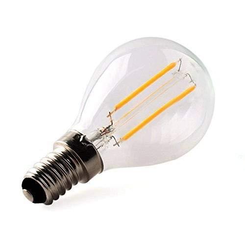 Luxon LED電球 調光器対応レトロ電球 E26金口電球色相当(4w)エジソンランプ