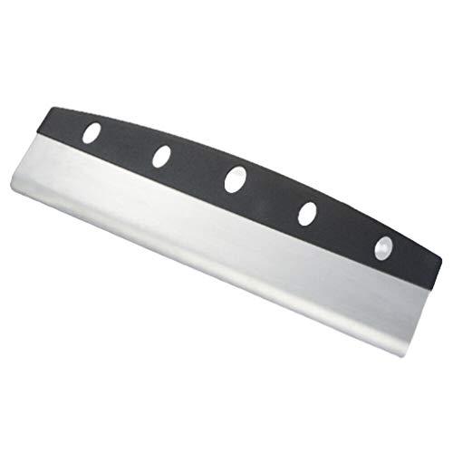 Cotton Cat 14' Pizza Cutter, Sharp Rocker Blade Slicer Heavy Duty Kitchen Stainless Steel