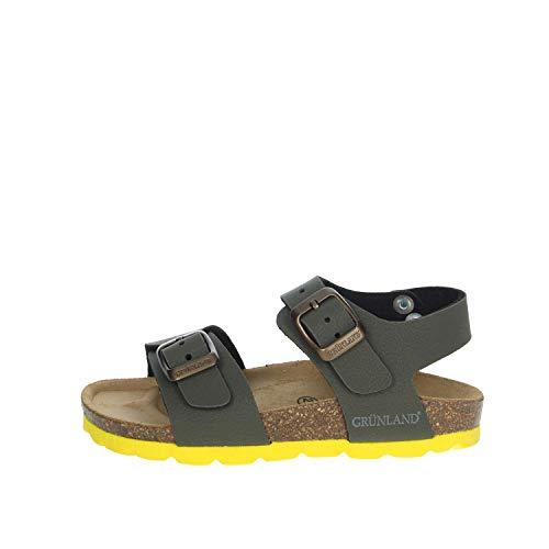 Grunland Sandalo Fascia e Laccio alla Caviglia, para in Sughero e Gomma Sagomata