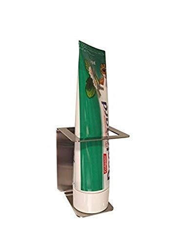 Zahnpastahalter aus Edelstahl/Halter für Zahnpasta 1 Stück