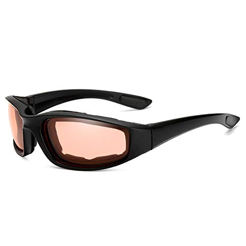 Jilibaba Gafas de sol deportivas para motocicleta al aire libre a prueba de viento gafas para conducir motociclismo equitación para hombres y mujeres B