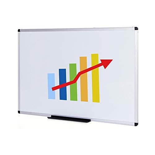 VIZ-PRO Whiteboard - mit Alurahmen, nicht magnetisch - 110 x 75 cm