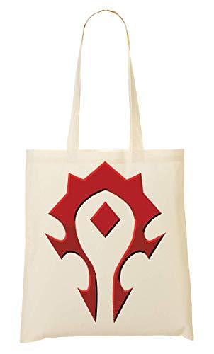BakoIsland Horde Symbol Logo Tragetasche Einkaufstasche