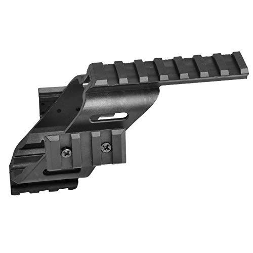 "Tactical Area Montura de luz láser Universal Pistol Scope Sight con Quad 7/8\""Weaver & Picatinny Rail para Juegos G17 CS"